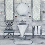 Grey Bath I Plakat af Gina Ritter