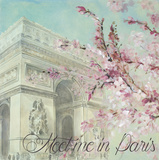 Paris in the Spring I Print by Lanie Loreth