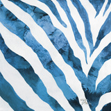 Watercolor Zebra I Print by Patricia Pinto