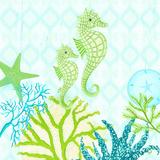 Seahorse Reef I Prints by Andi Metz