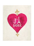 Romance Collection J'Adore Posters av Miyo Amori