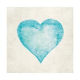 Corazón azul Lámina giclée premium por Morgan Yamada