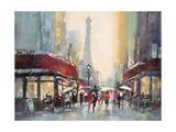 Paris Boulevard Posters af Brent Heighton