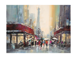 Paris Boulevard Pósters por Brent Heighton