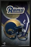 St. Louis Rams- Helmet 2015 Print