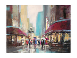 Paris Metro Art by Brent Heighton