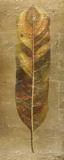 Arte Verde on Gold II Kunst von Patricia Pinto