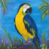 Island Birds Square II Stampe di Julie DeRice