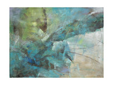 Aqua Explosion Kunstdruck von Gabriela Villarreal