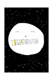The Weather is Fine by Annimo Prints