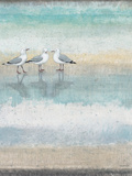 Sea Glass Shore 1 Print by Norman Wyatt Jr.