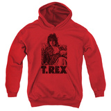 Youth Hoodie: T Rex - Lounging T-Shirt