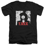T Rex - The Slider V-Neck T-Shirt