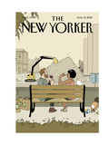The New Yorker Cover - August 31, 2015 Premium Giclee Print by Adrian Tomine