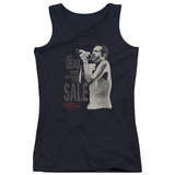 Juniors Tank Top: Scott Weiland - Not Dead (slim fit) Shirt