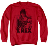 Crewneck Sweatshirt: T Rex - Lounging Shirt