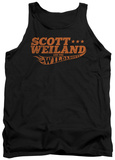 Tank Top: Scott Weiland - Logo Tank Top