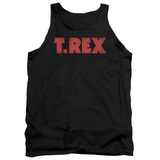 Tank Top: T Rex - Logo Tank Top