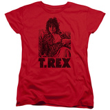 Woman's: T Rex - Lounging T-shirts
