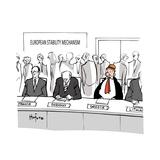European Stability Mechanism - Cartoon Premium Giclee Print by Kaamran Hafeez
