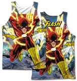 JLA- Police Line (Front/Back Print) Tank Top