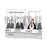 European Stability Mechanism - Cartoon Premium Giclee Print by Kaamran Hafeez