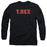 Long Sleeve: T Rex - Logo T-Shirt