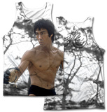Bruce Lee- Battle Ready (Front/Back Print) Tank Top