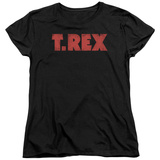 Woman's: T Rex - Logo T-shirts