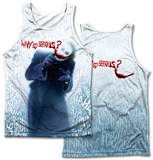 Dark Knight- Why (Front/Back Print) Tank Top