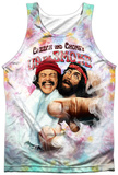 Cheech & Chong- Fried Tie Dyed Tank Top
