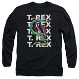 Long Sleeve: T Rex - Snake T-shirts