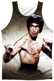 Bruce Lee- Scratched Tank Top