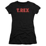 Juniors: T Rex - Logo T-Shirt