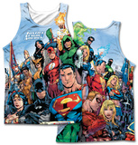 JLA- Justice League Of America Tank Top