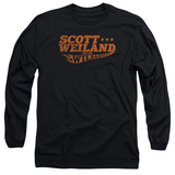 Long Sleeve: Scott Weiland - Logo Long Sleeves