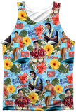 Elvis- Surf's Up Tank Top