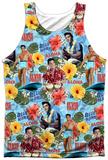 Elvis- Surf's Up Tank Top