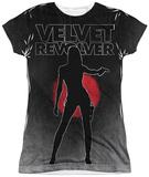 Juniors: Velvet Revolver- Contraband Womens Sublimated
