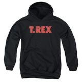 Youth Hoodie: T Rex - Logo Pullover Hoodie