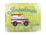 Ambulance Prints by Jennifer Pugh