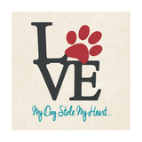 Stole My Heart Prints by Jo Moulton