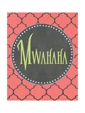 Mwahaha Prints by Jo Moulton