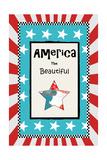 America the Beautiful Prints by Sarah Ogren