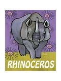 Rhino Prints by Shanni Welsh