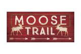 Moose Trail Prints by Jennifer Pugh
