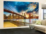 Manhattan Sunset Wandgemälde