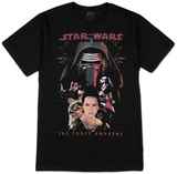 Star Wars The Force Awakens- Rational T-shirts
