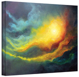 Cosmic Light, Gallery-Wrapped Canvas Stretched Canvas Print by Marina Petro