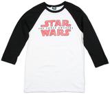Long Sleeve: Star Wars- Logo Fracture Raglan T-shirts